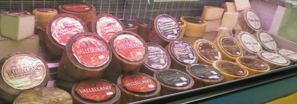 sobrasoda mostrador quesos vallellano